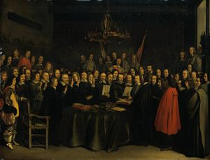 Ratification of the Treaty of Münster