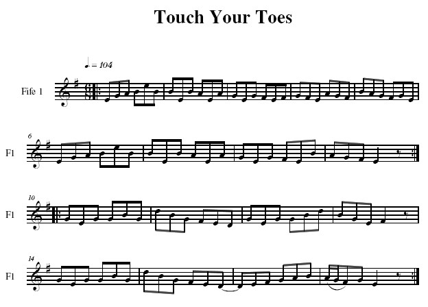 Touch Your Toes