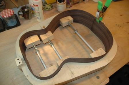 Guitar Building: Templates and Molds | baconworks